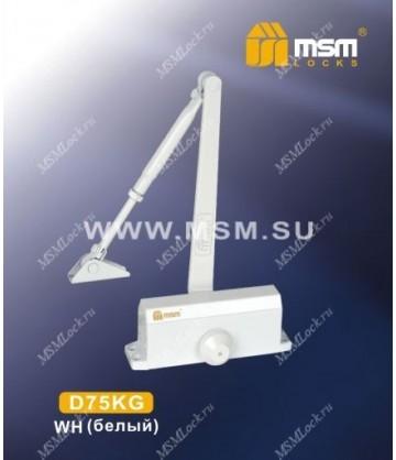 Доводчик MSM D75KG Белый (WH)