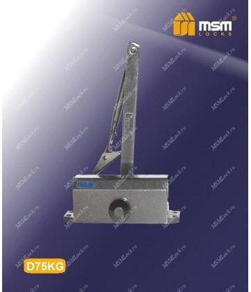 Доводчик дверной MSM D75KG Черный (BK)
