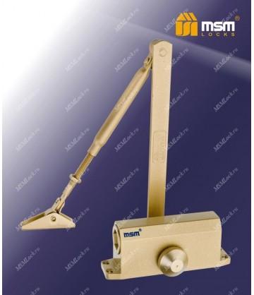Доводчик дверной MSM D100KG Золотой (GP)