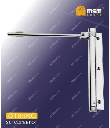 Доводчик двери MSM пружинный DT85KG Серебро (SL)