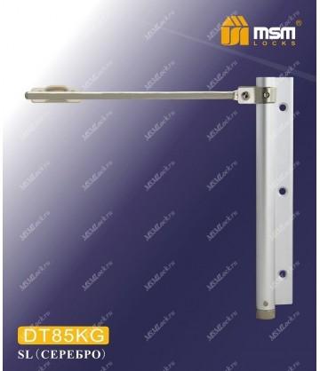 Доводчик двери MSM пружинный DT85KG Белый (WH)