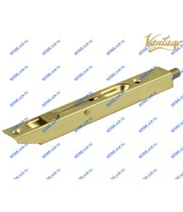 Торцевой шпингалет Vantage LX140 PB полированное золото