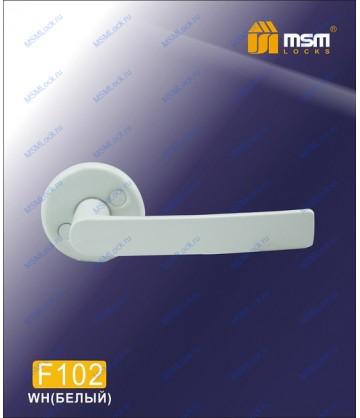Ручка для финских дверей F102 Белый (WH)