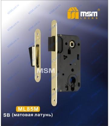 Дверной замок MSM ML85M Матовая латунь (SB)