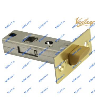 Защелка межкомнатная Vantage P45 SB матовое золото