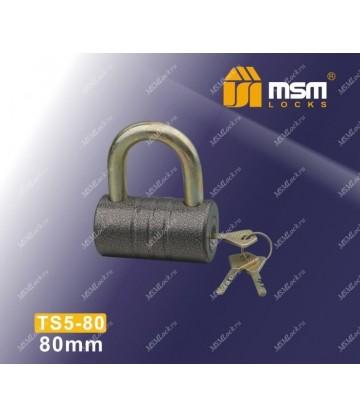 Навесной замок MSM TS5-80 размер 80