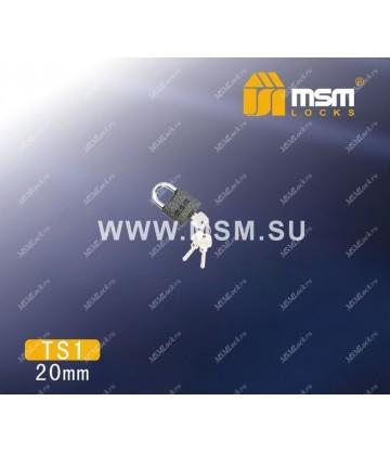 Навесной замок MSM TS1 размер 20
