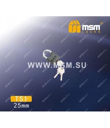 Навесной замок MSM TS1 размер 25