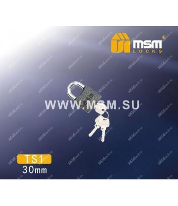 Навесной замок MSM TS1 размер 30