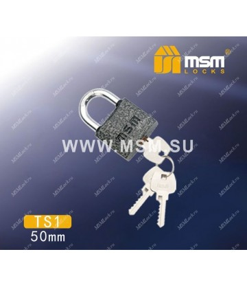 Навесной замок MSM TS1 размер 50