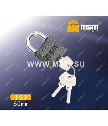 Навесной замок MSM TS1 размер 60