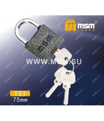 Навесной замок MSM TS1 размер 75