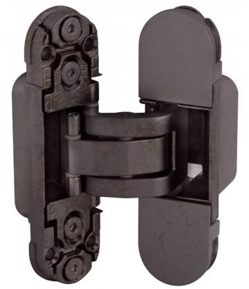 Скрытая дверная петля AGB Eclipse 2.0 1шт+комплект накладок бронза
