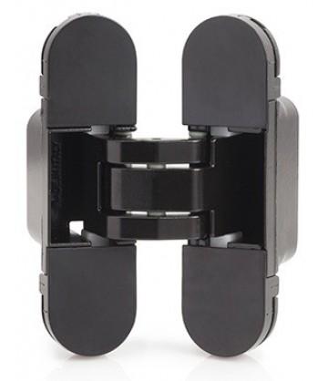 Скрытая дверная петля AGB Eclipse 2.0 1шт+комплект накладок чёрный