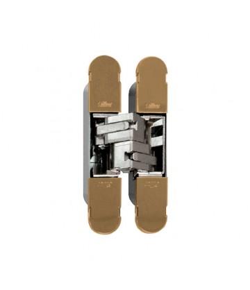 Петля дверная скрытого монтажа ARCHIE SILLUR S-130 ANT.COFFEE, античный кофе, 3D регулировка, 1шт