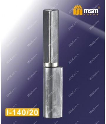 Петля MSM приварная каплевидная с подшипником I-140/20 размер 140