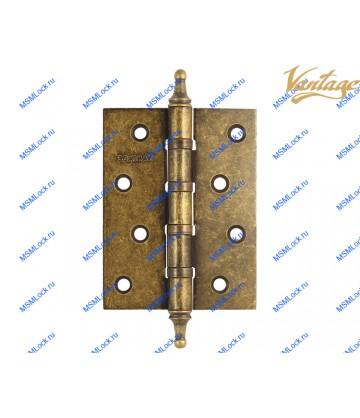 Петля Vantage 100x75x3 mm B4K-BR состаренная бронза (универсальная)
