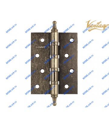 Петля Vantage 100x75x3 mm B4K-AS состаренное серебро (универсальная)