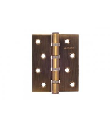 Дверная петля Vantage B4 с подшипником MAB матовая бронза (универсальная)