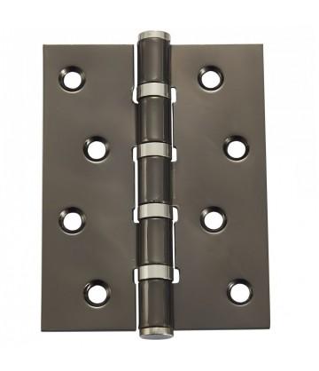 Дверная петля Vantage B4 с подшипником BN чёрный никель (универсальная)
