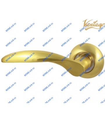Ручка VANTAGE V20C AL матовое золото