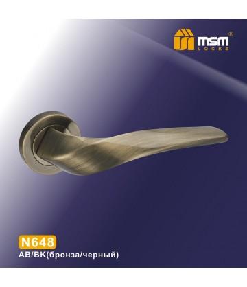 Ручки MSM N648 Бронза / Черный (AB/BK)
