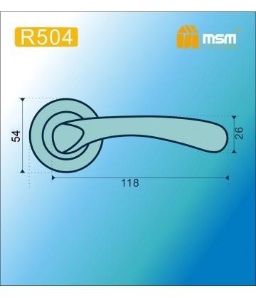 Ручка MSM R504 Матовая латунь (SB)