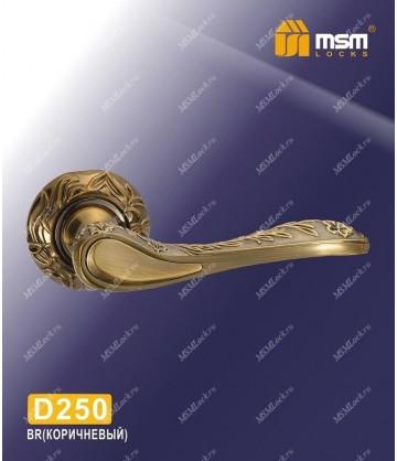 Ручка MSM на розетке D250 Коричневый (BR)