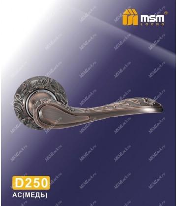 Ручка MSM на розетке D250 Медь / Хром (AC/CP)
