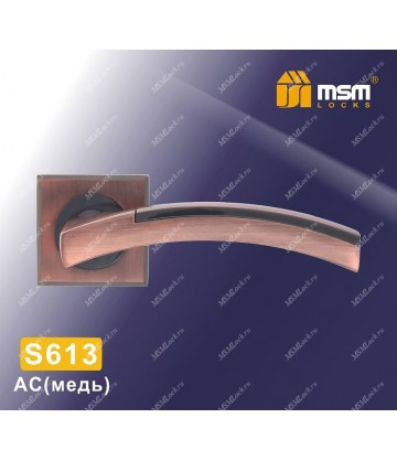 Ручка на розетке S613 Медь (AC)