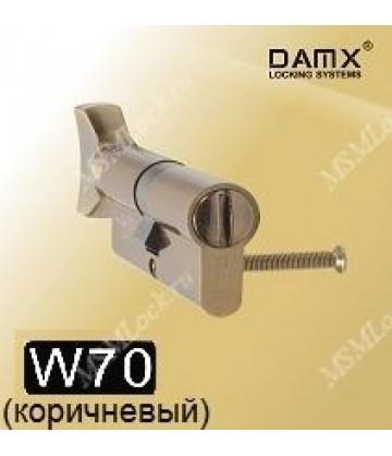 Сантехнический цилиндр DAMX W70 Коричневый (BR)