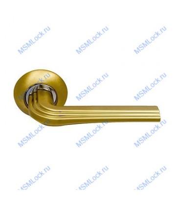 Дверная ручка Archie Sillur 126 S.GOLD матовое золото