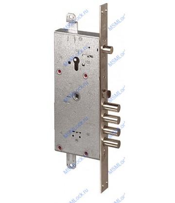 Дверной замок врезной Cisa двухсистемный NEW CAMBIO BASIC 57.986.48 ключ 44 мм
