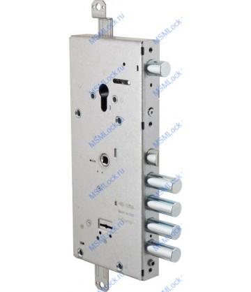 Дверной замок врезной Cisa двухсистемный NEW CAMBIO FACILE 57.966.48 ключ 44 мм